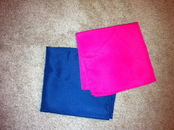 White Tablecloths and Navy Fuchsia Napkins For Sale wedding tablecloths