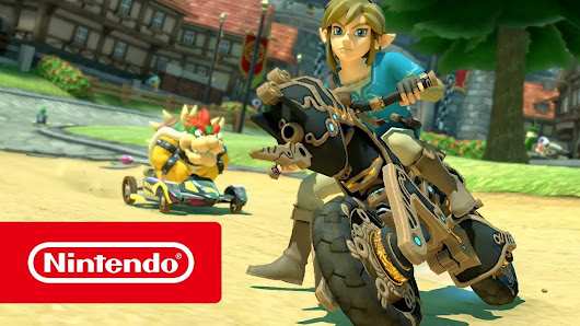 The Legend of Zelda: Breath of the Wild llega hoy a Mario Kart 8 Deluxe | ControlCETA