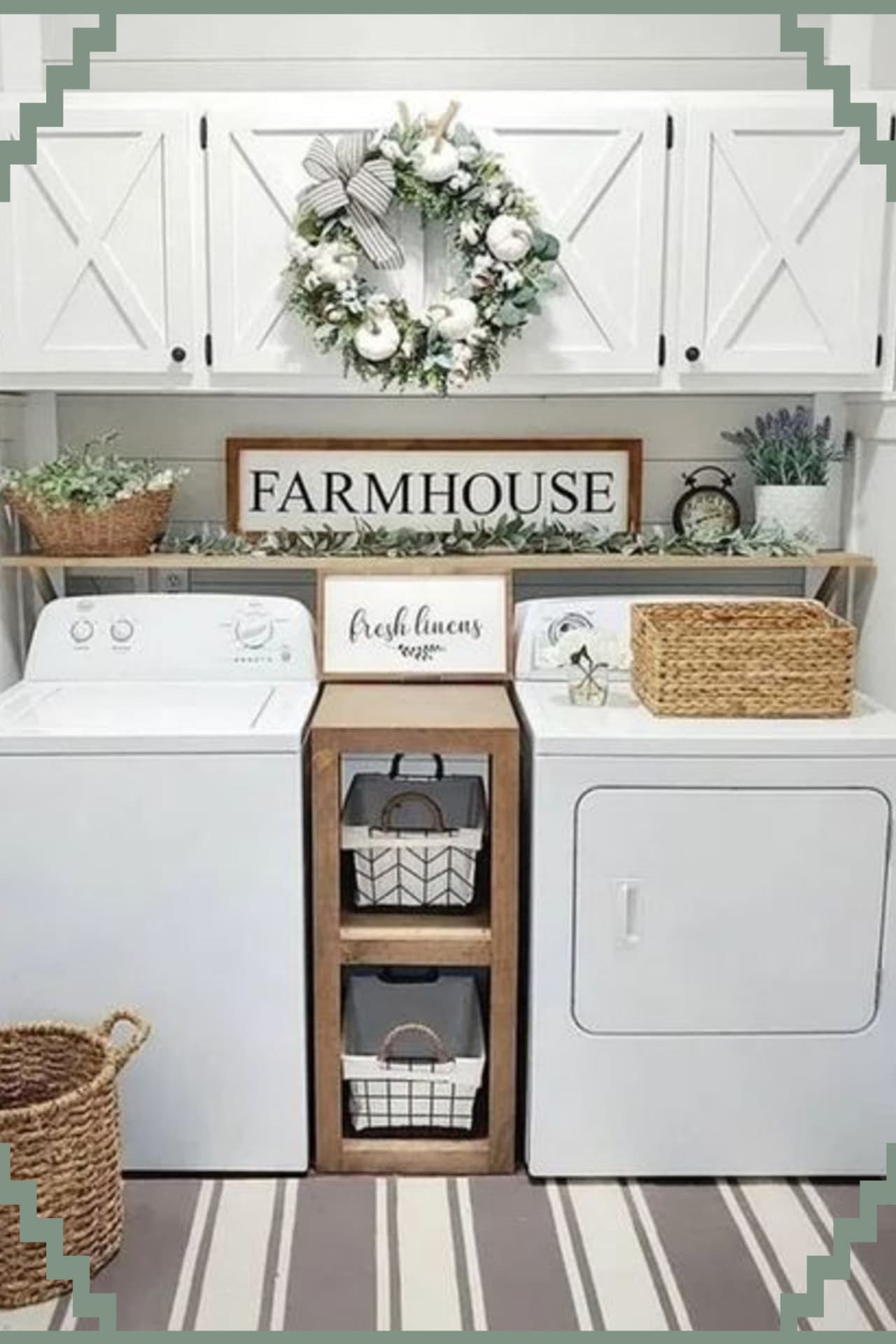Farmhouse Style Small Laundry Room Ideas To Remodel Your Tiny