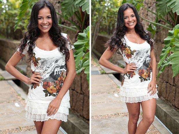 """""""Até as mulheres me pedem fotos para seus maridos"""" (Foto: Fina Estampa/TV Globo)"""