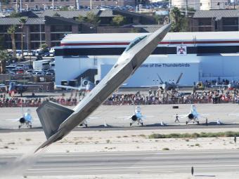 F-22A Raptor ВВС США. Фото с сайта af.mil
