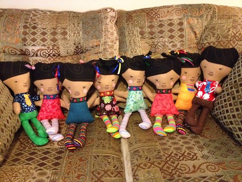 Dolly Donations for Maasailand Kenya Easy Girl Pattern 1
