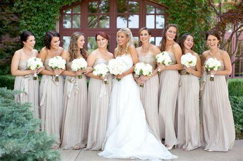 Champagne Bridesmaid Dresses   DressedUpGirl.com