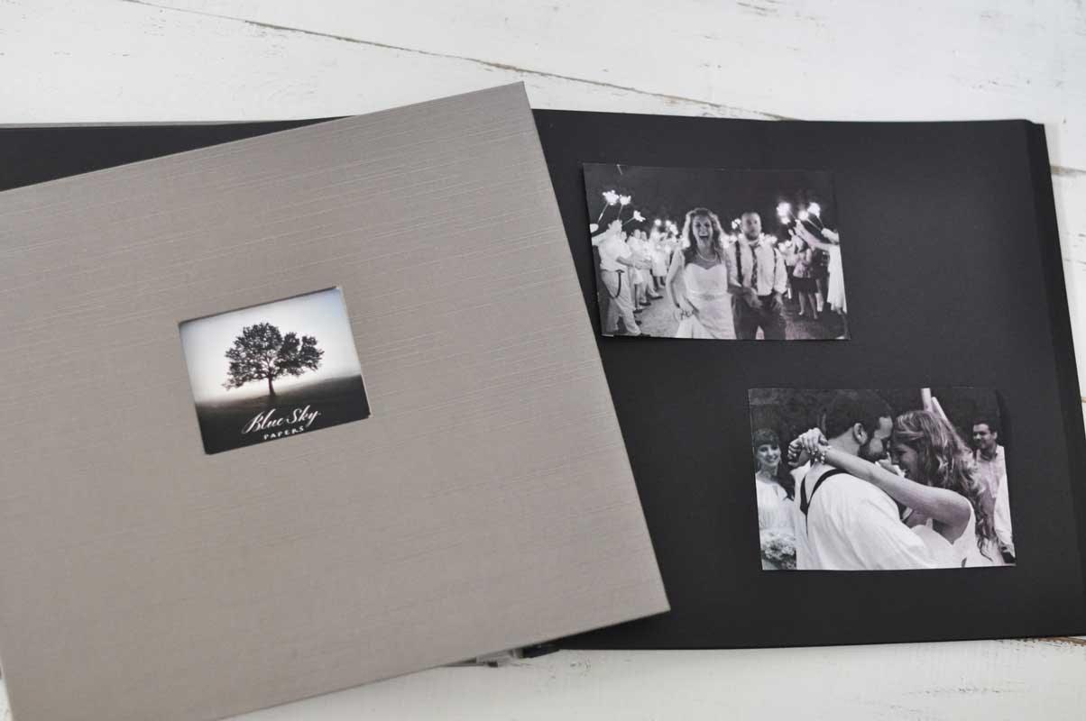 Black Page Albums