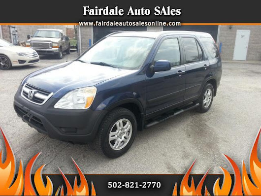 Used 2004 Honda CR-V for Sale in Louisville KY 40214 Fairdale Auto Sales