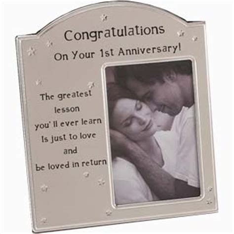 1st Anniversary Photo frame   review, compare prices, buy