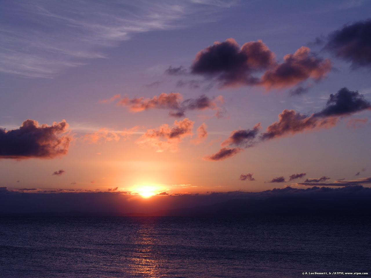 Sunset Over Puerto Rico Puerto Rico Wallpaper 331593 Fanpop