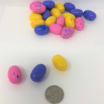 Easter Egg Gumballs Bubble Gum Eggs 1 Pound Easter Candy