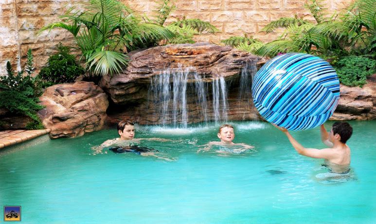 Rock Swimming Pool / Pond Grottos / Grotto // Pool Rock Waterfalls ...
