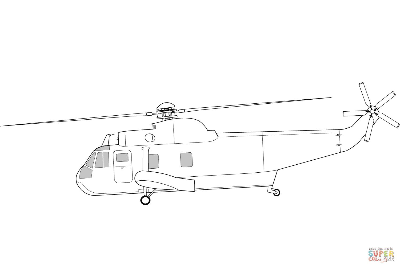 Klick das Bild Sikorsky SH 3 Sea King Hubschrauber