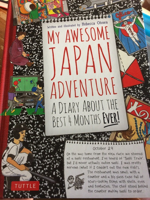 Tuttle Publishing's My Awesome Japan Adventure Review