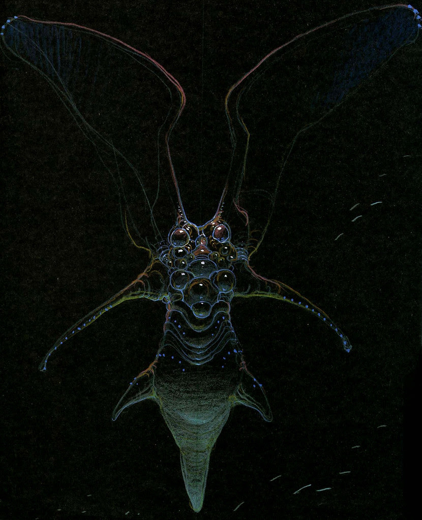 Moebius - Alien Concepts For Abyss 2