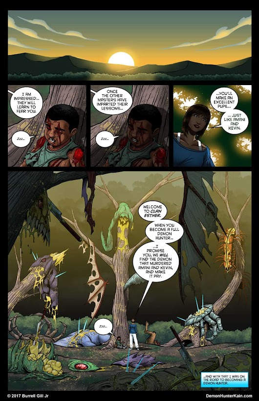 Demon Hunter Kain Chapter 6: The Boy Called Kain, Page 94