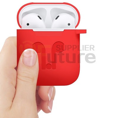 Silicone Airpods Protective Cover Case Slim Skin For Apple AirPods