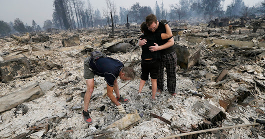 How You Can Help The Wildfire Victims In California