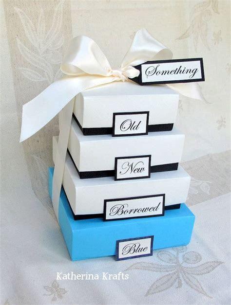 Something Blue Wedding Gift Boxes   Something Old