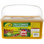 Crayola Ultimate Crayon Bucket 200 ct.