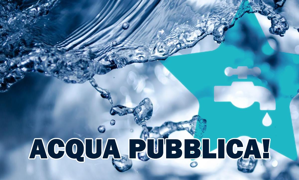 Risultati immagini per acqua pubblica