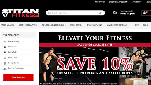 Titan Fitness Coupon Code & Review