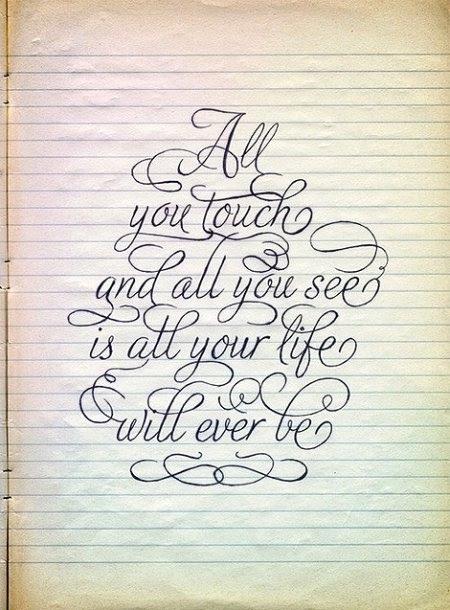 Calligraphy Quotes. QuotesGram