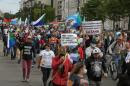 'Putin, have some tea': Russian city holds eighth anti-Kremlin protest