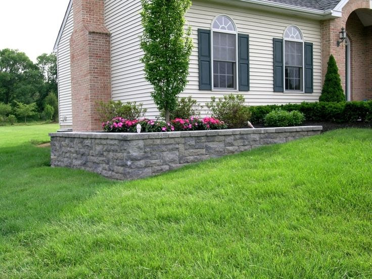 Retaining Wall Ideas for Sloping Front Yard