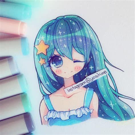 hope  liek  pic anime art cute art copic