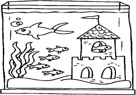 Aquarium Coloring Pages at GetDrawings | Free download