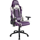 Techni Sport Purple Ergonomic High Back Racer Style Video Gaming Chair