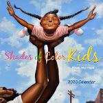 Shades of Color Kids 2020 Wall Calendar