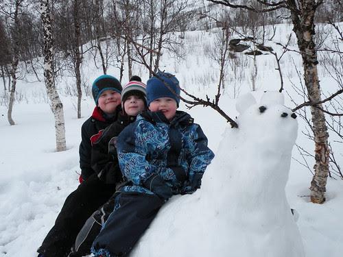 Snow fantasy animal