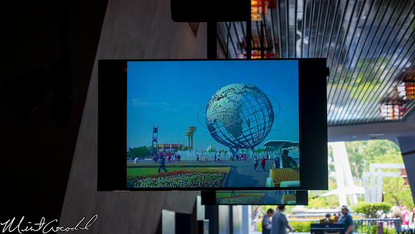 Disneyland Resort, Disneyland, Tomorrowland, Theater, Movie, Concept, Art, Preshow, Pre, Show, Walt, Disney, New York, World's, World, Fair