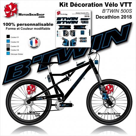 Sticker Cadre Vtt Btwin Rockrider 500s 540s 560s 740s Decathlon