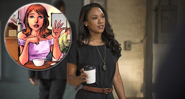 Candice Patton / Iris West en The Flash