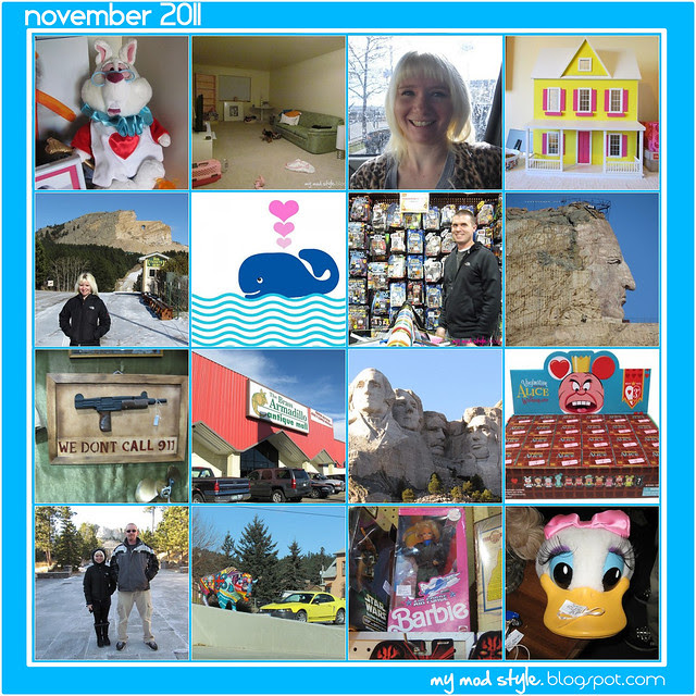 Monthly Mosaic November 2011