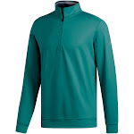 Adidas Golf Men's Classic Club 1/4-Zip Pullover, Small Teal