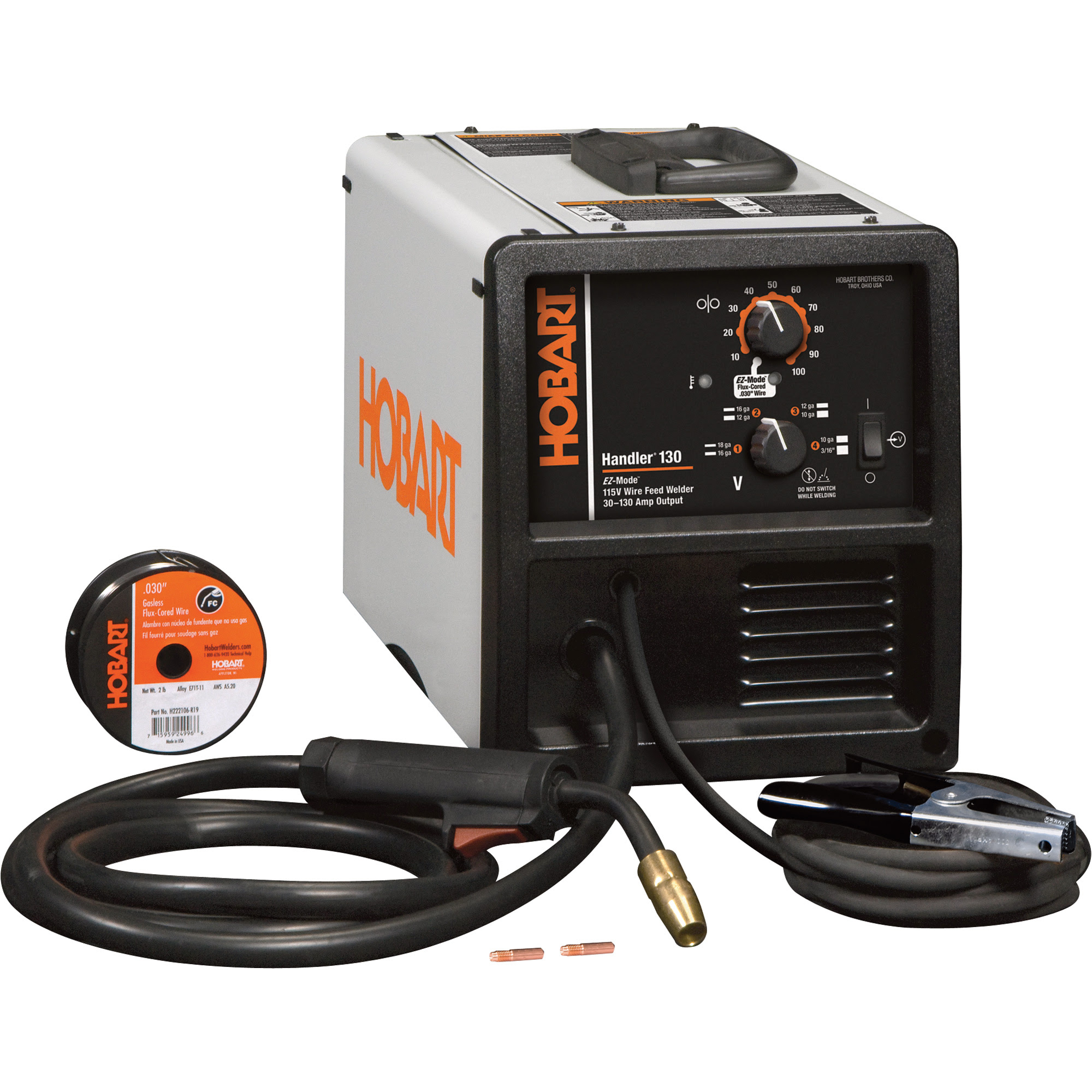 FREE SHIPPING — Hobart Handler 130 Wire-Feed MIG-Ready ...