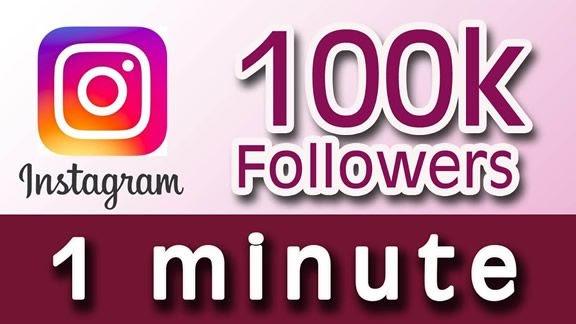 100k Instagram Followers Script   Least Followers Verified Instagram