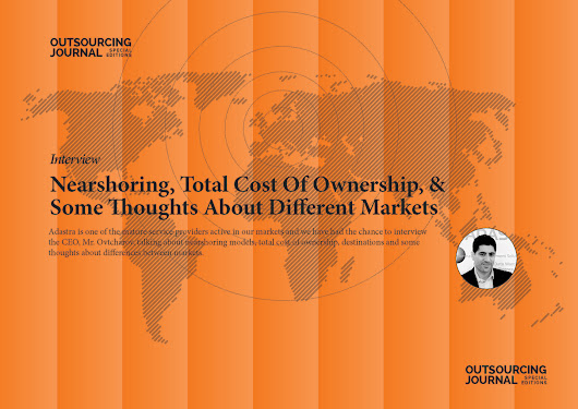 Interview: Nearshoring, Total Cost Of Ownership & 