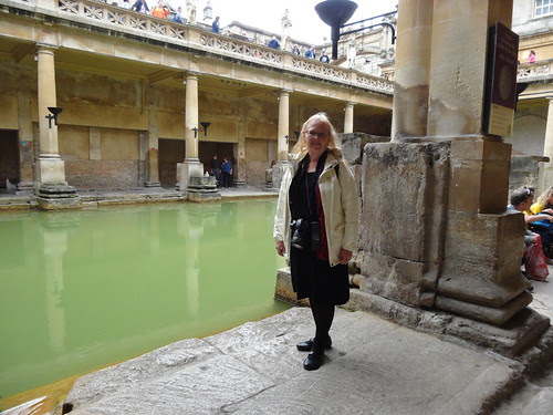Me at the Roman Bath