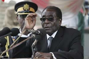 President Robert Mugabe of the Republic of Zimbabwe has urged Africans to stand up to the Western imperialist states. Mugabe has taken a principled stand against western interference in the internal affairs of the continent. by Pan-African News Wire File Photos
