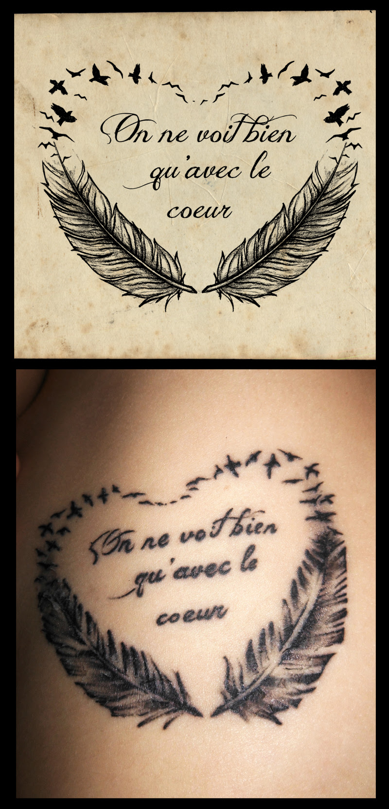 Smiling Tattoo Quotes Designs 4 Quote