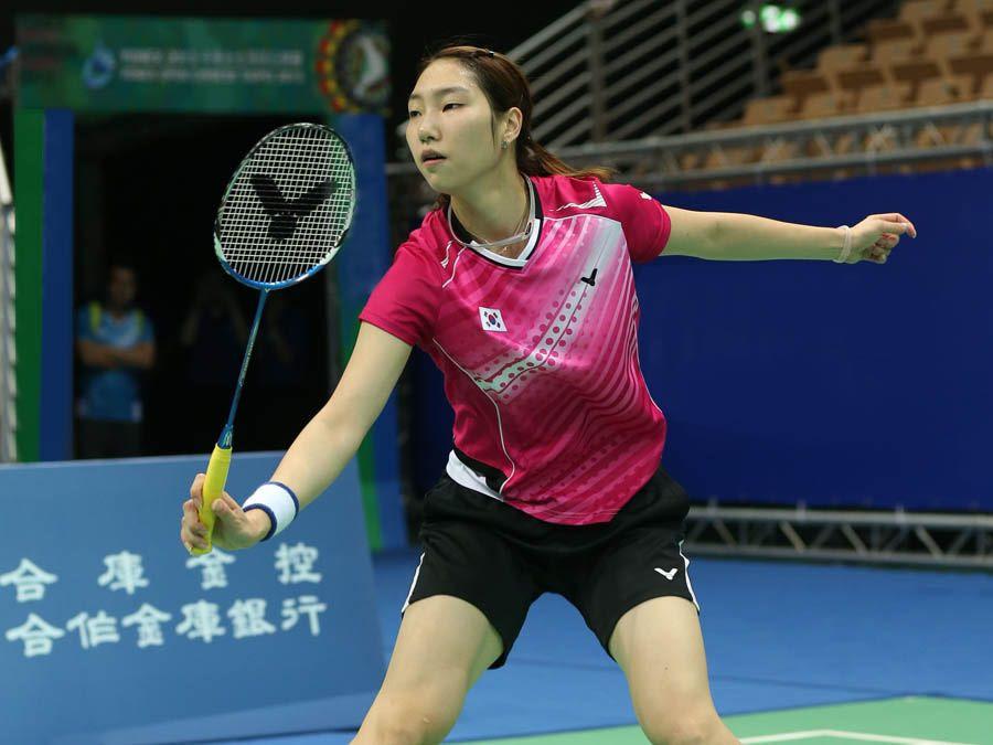 Sung Ji Hyun South Korea Badminton Player hot and beautiful stills