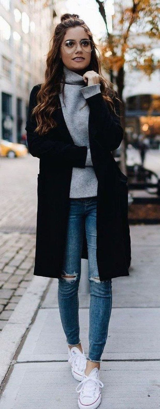 best winter street style outfits for women 2020