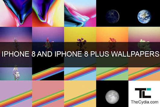 iPhone 8 & iPhone 8 Plus Stock Wallpapers [Download]