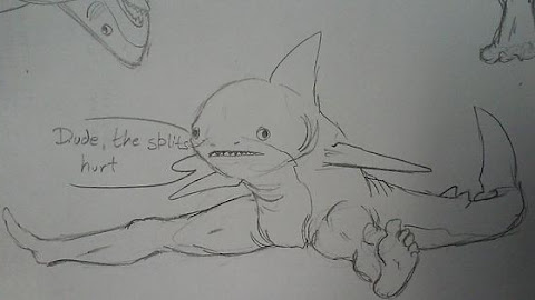 Sharks with legs, yo.
