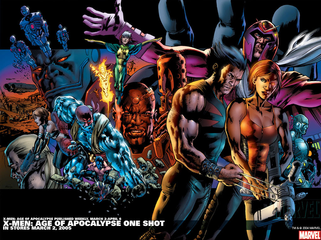 X Men Age Of Apocalypse One Shot Wallpaper Comic Art Community
