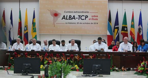 Cumbre AlBA-TCP sobre el Ebola. Foto: Ismael Francisco/Cubadebate.