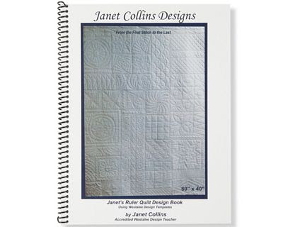 Brewer Sewing Janets Ruler Quilt Design Book
