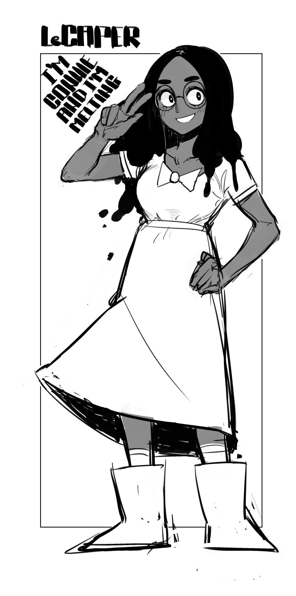 Steven Universe - Connie Fanart She's precious - LeCaper